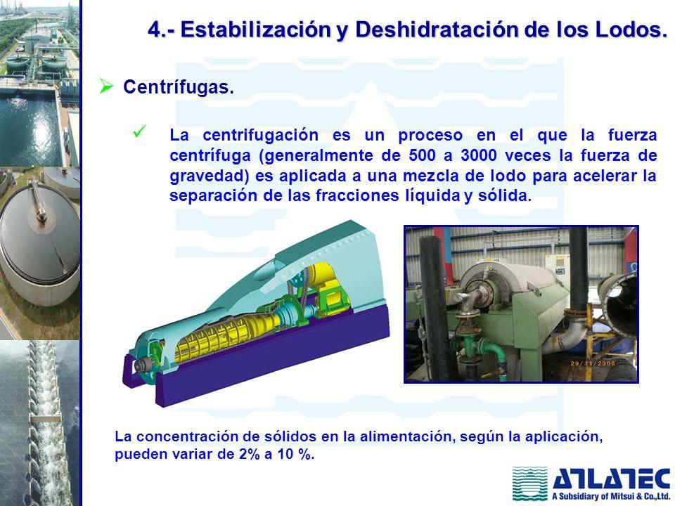 Centrífugas. La centrifugación es un proceso en el que la fuerza centrífuga (generalmente de 500 a 3000 veces la fuerza de gravedad) es aplicada a una