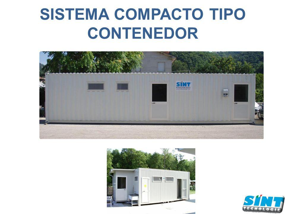 SISTEMA COMPACTO TIPO CONTENEDOR