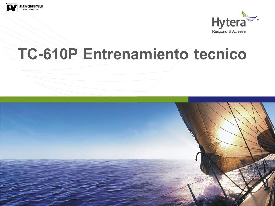 TC-610P Entrenamiento tecnico