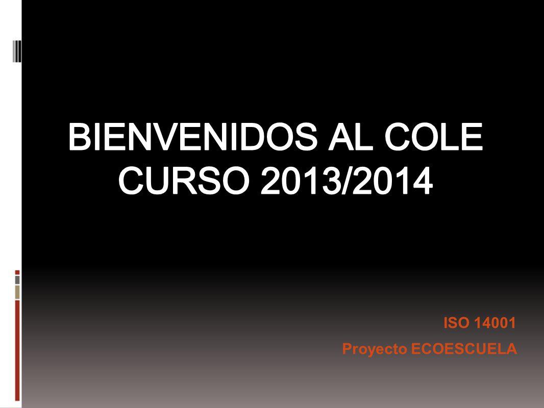 ISO 14001 Proyecto ECOESCUELA