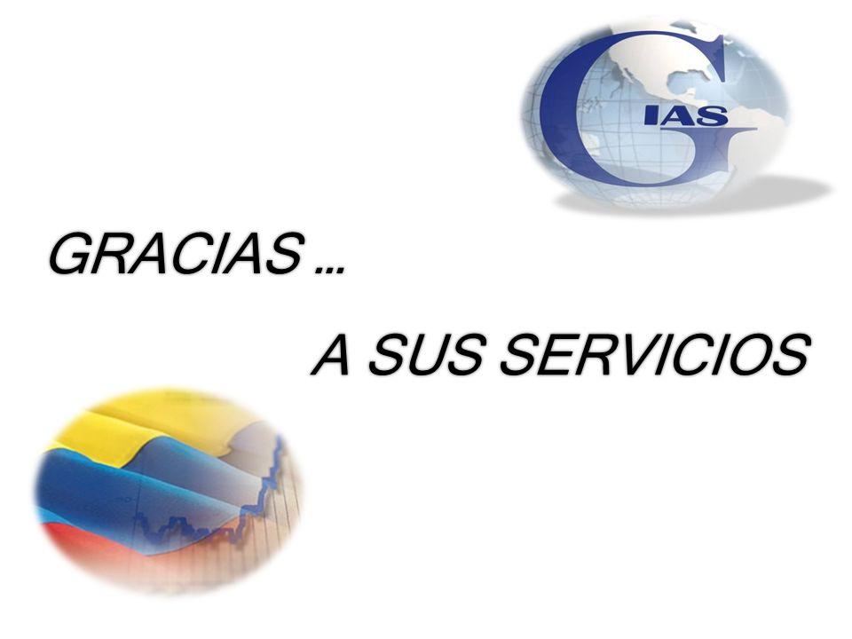 GRACIAS … A SUS SERVICIOS