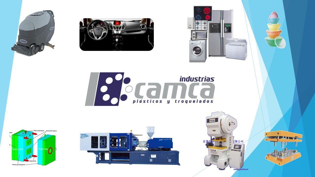 MISIÓN En Industrias CAMCA, lo mas importante son los resultados a nuestros clientes a los que ofrecemos la fabricación de piezas inyectadas de plástico, troquelados, ensambles y herramentales.