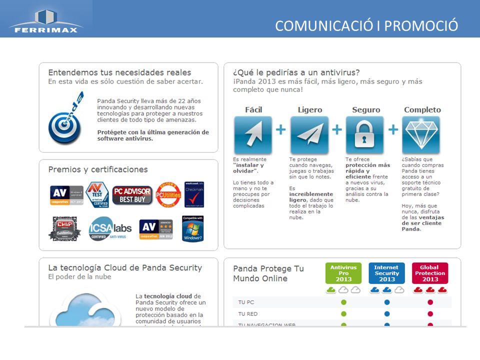 COMUNICACIÓ I PROMOCIÓ