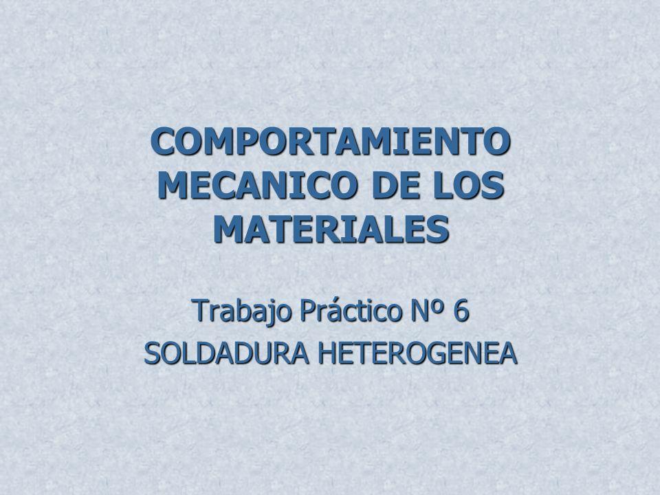 Trabajo práctico Nº6 soldadura heterogénea Brazing de dos tubos de acero tipo SAE 1020 solapados Material de aporte: 25% Ag, Cu, Zn y Cd Falta de penetración Rechupe en el metal de aporte Adherencia correcta Estructura de ferrita y perlita de los metales base