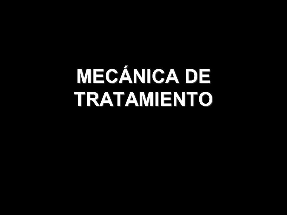 MECÁNICA DE TRATAMIENTO