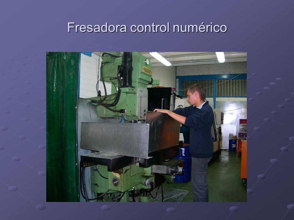 Fresadora control numérico
