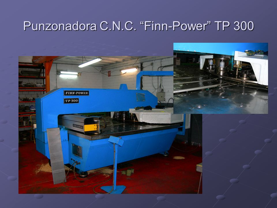 Punzonadora C.N.C. Finn-Power TP 300