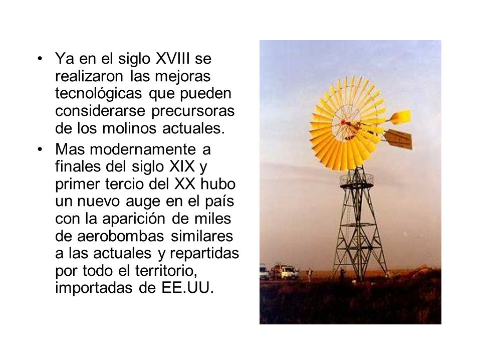 Pequeños aerogeneradores eólicos.