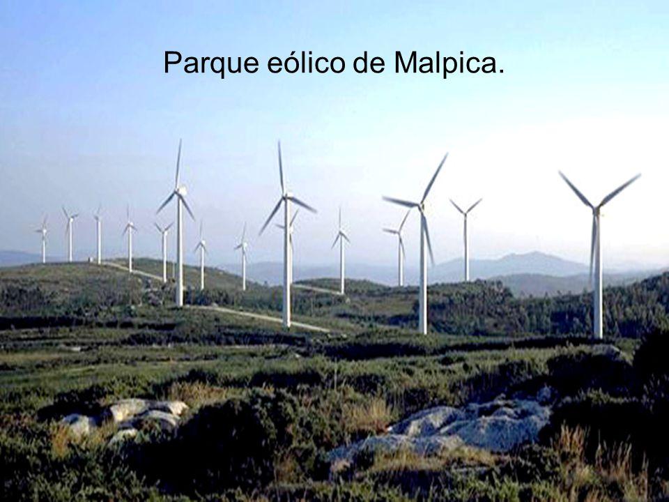Parque eólico de Malpica.