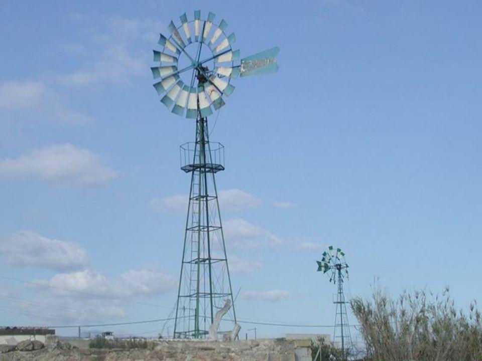 Pequeño parque eólico de Madrid Sur.