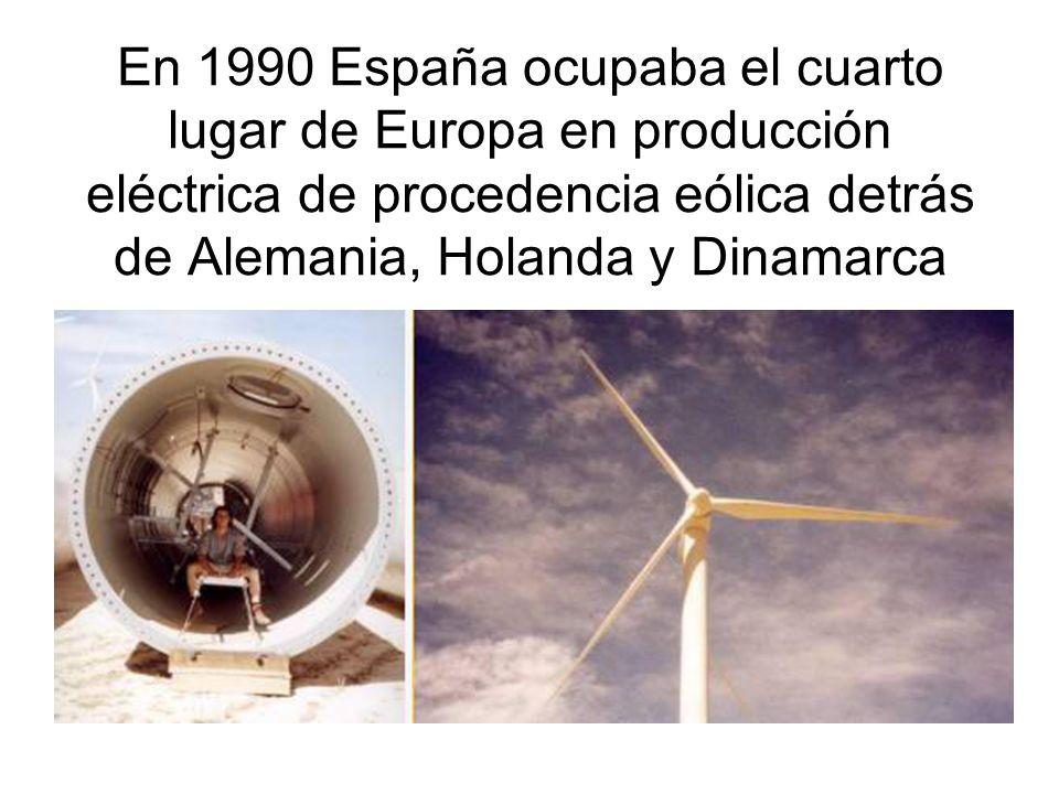 Cálculo de la potencia eólica disponible.P = ½ G A V 3 P = Potencia eólica en vatios.