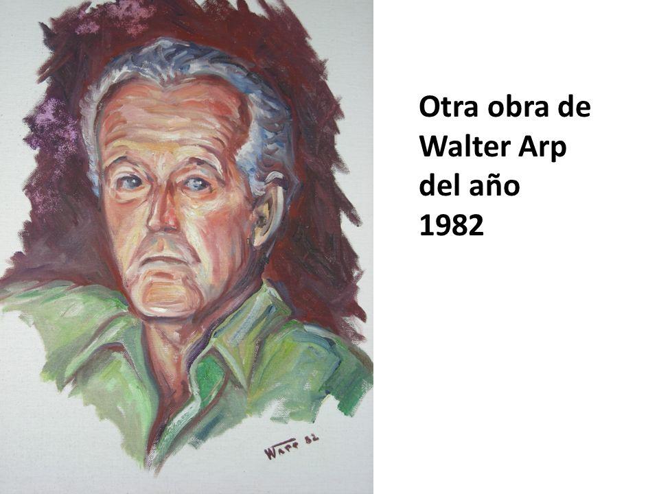 Otra obra de Walter Arp del año 1982