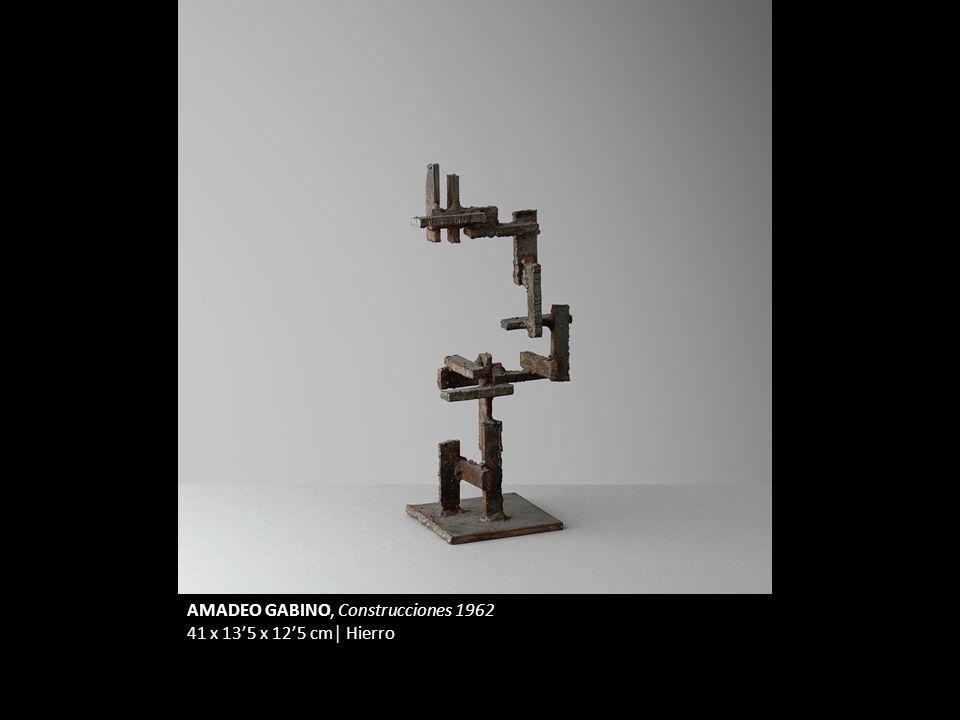 AMADEO GABINO, Construcciones 1962 41 x 135 x 125 cm Hierro