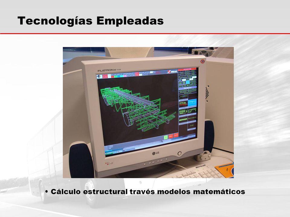 Tecnologías Empleadas Cálculo estructural través modelos matemáticos