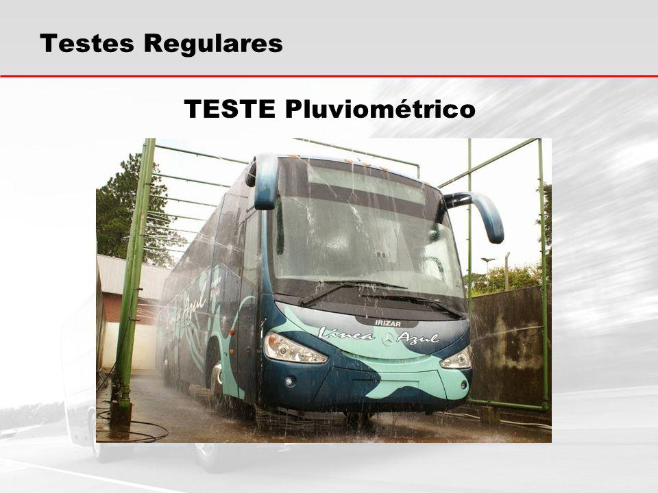 TESTE Pluviométrico Testes Regulares