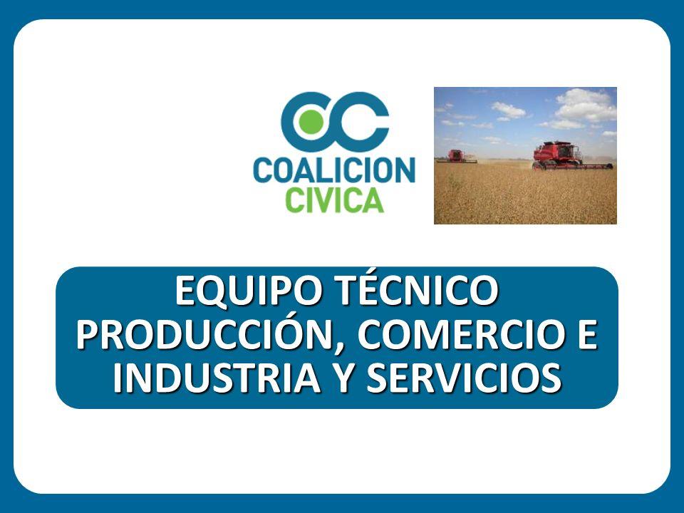 EQUIPO TÉCNICO PRODUCCIÓN, COMERCIO E INDUSTRIA Y SERVICIOS