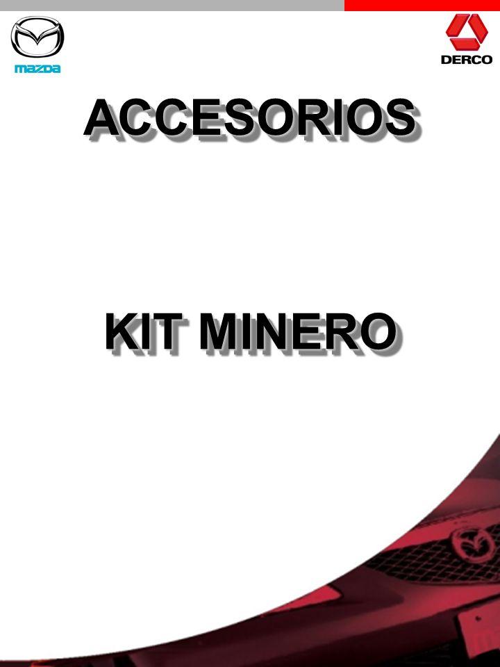 ACCESORIOSACCESORIOS KIT MINERO