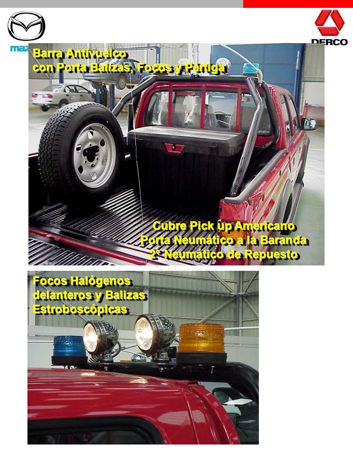 Cubre Pick up Americano Porta Neumático a la Baranda 2° Neumático de Repuesto Cubre Pick up Americano Porta Neumático a la Baranda 2° Neumático de Rep