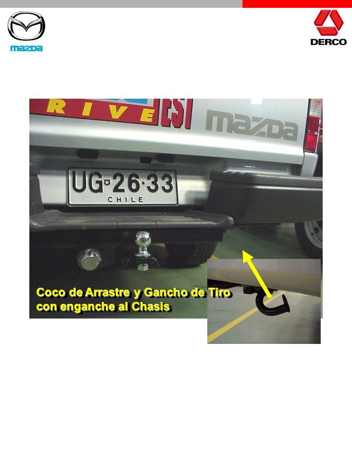 Coco de Arrastre y Gancho de Tiro con enganche al Chasis Coco de Arrastre y Gancho de Tiro con enganche al Chasis