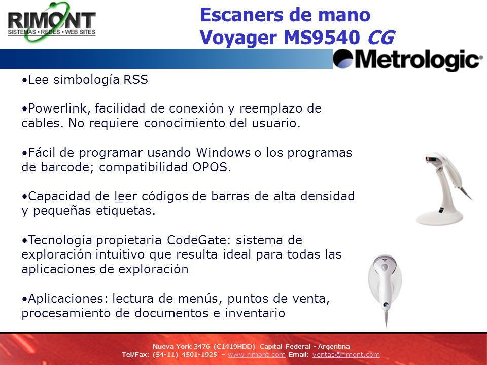ScanPal 2 Terminal Portátil Ligero y compacto y fácil de usar.