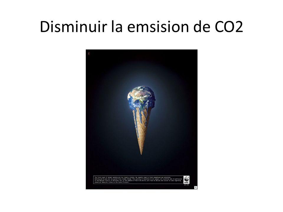 Disminuir la emsision de CO2