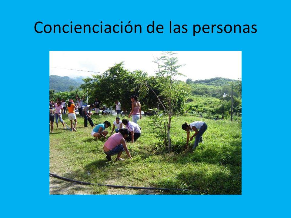 Concienciación de las personas
