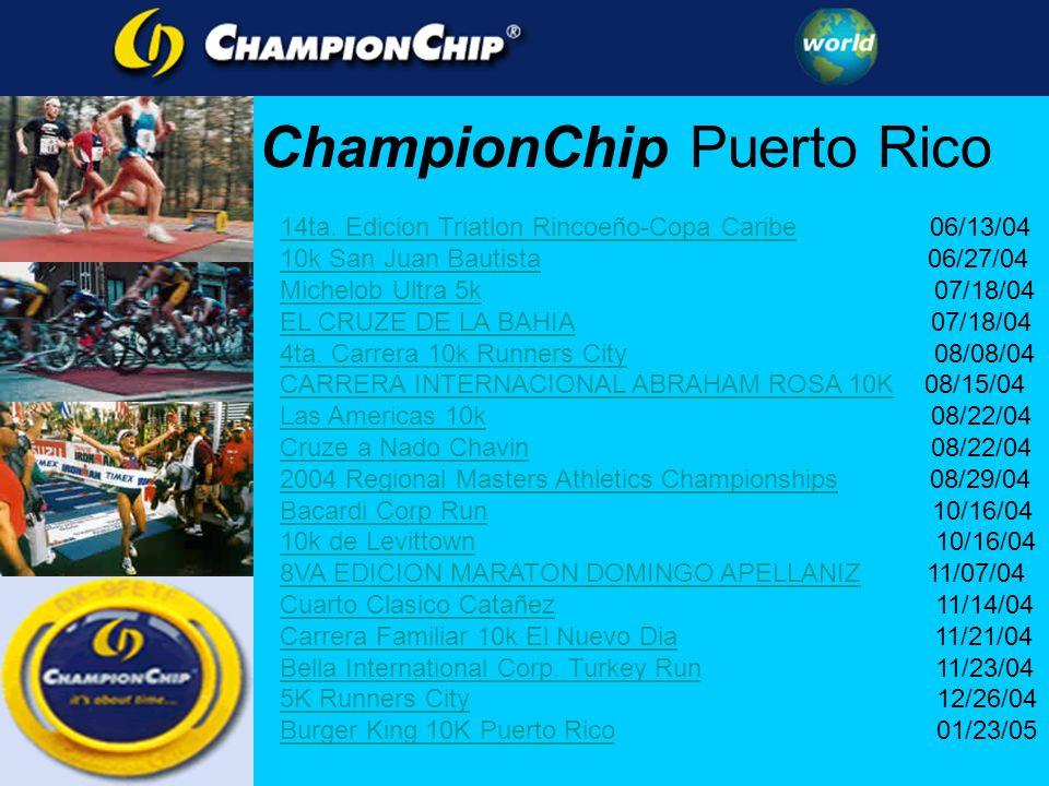 14ta. Edicion Triatlon Rincoeño-Copa Caribe14ta. Edicion Triatlon Rincoeño-Copa Caribe 06/13/04 10k San Juan Bautista10k San Juan Bautista 06/27/04 Mi
