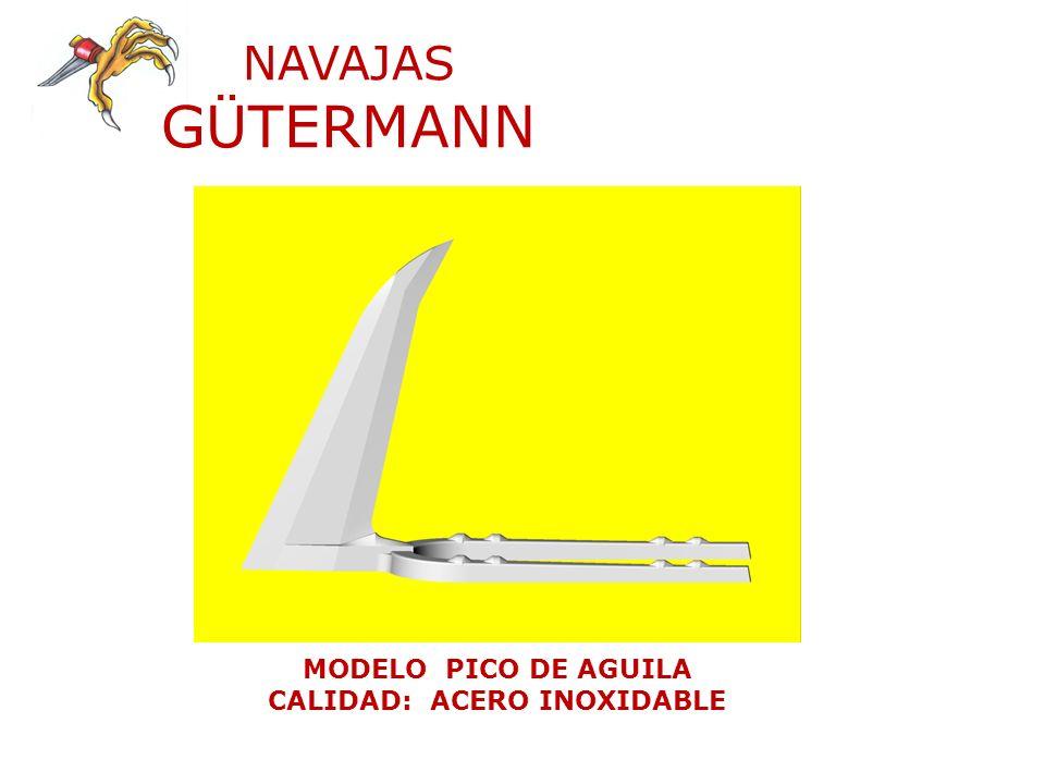 NAVAJAS GÜTERMANN MODELO BALLONETA CALIDAD: ACERO INOXIDABLE