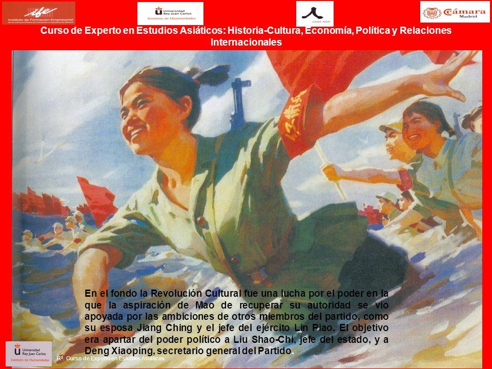 En el fondo la Revolución Cultural fue una lucha por el poder en la que la aspiración de Mao de recuperar su autoridad se vio apoyada por las ambicion