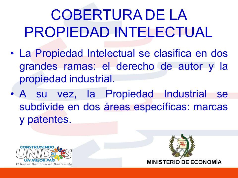 MINISTERIO DE ECONOMÍA PATENTES Se garantiza la protección: - De las plantas a través del sistema de Patentes y -Las nuevas variedades vegetales a través del Acta de 1991 de UPOV