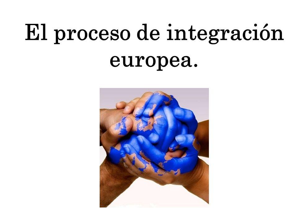 La Europa de las dos velocidades Teoría expuesta por algunos para el futuro de Europa.