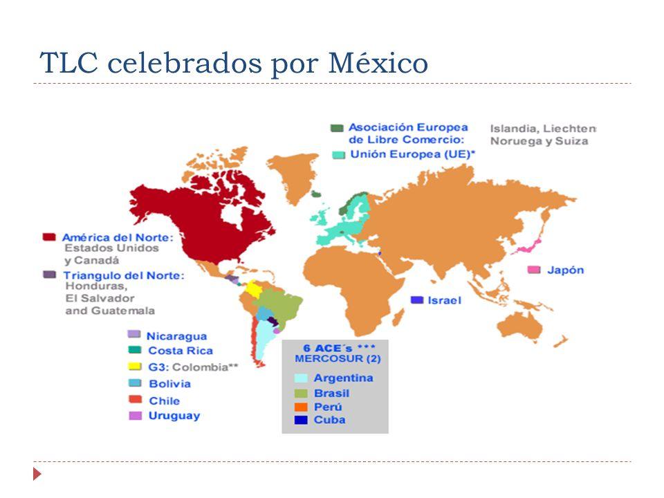 TLC celebrados por México