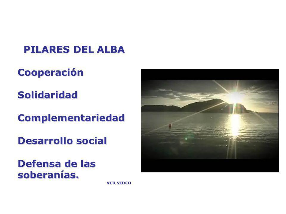 Actualmente al ALBA se ha incorporado el Tratado de Comercio de los Pueblos (TCP) por lo cual muchos documentos se refieren al ALBA-TCP.