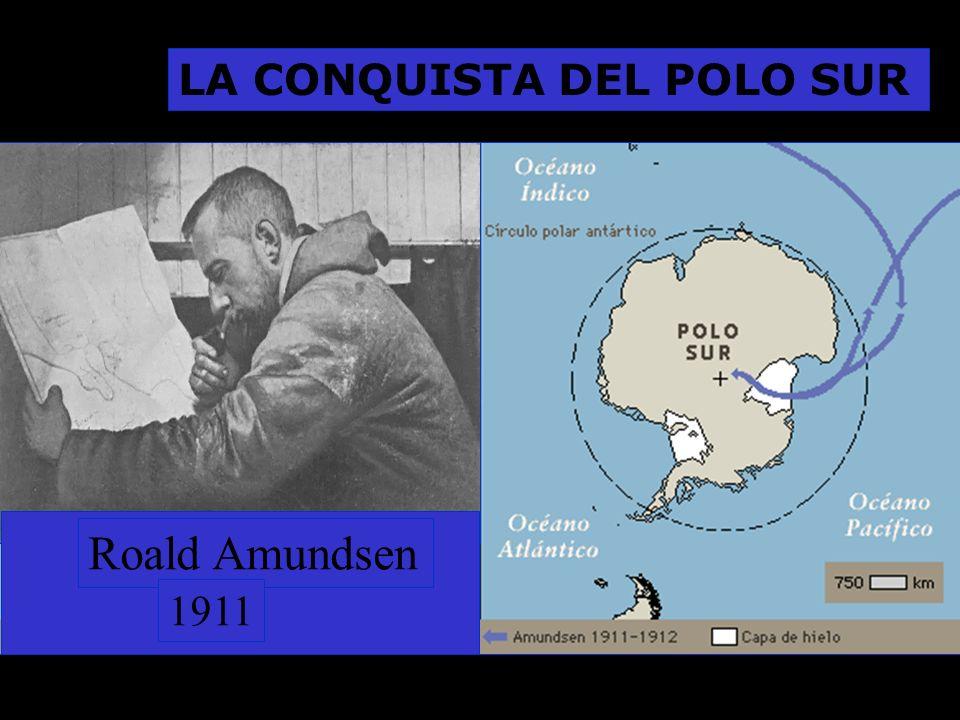 Roald Amundsen 1911 LA CONQUISTA DEL POLO SUR
