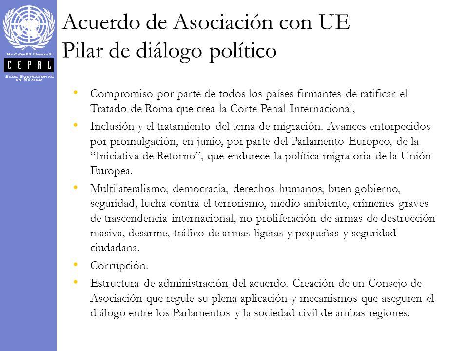 Compromiso por parte de todos los países firmantes de ratificar el Tratado de Roma que crea la Corte Penal Internacional, Inclusión y el tratamiento d