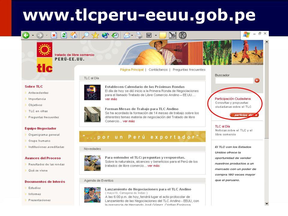 133 www.tlcperu-eeuu.gob.pe
