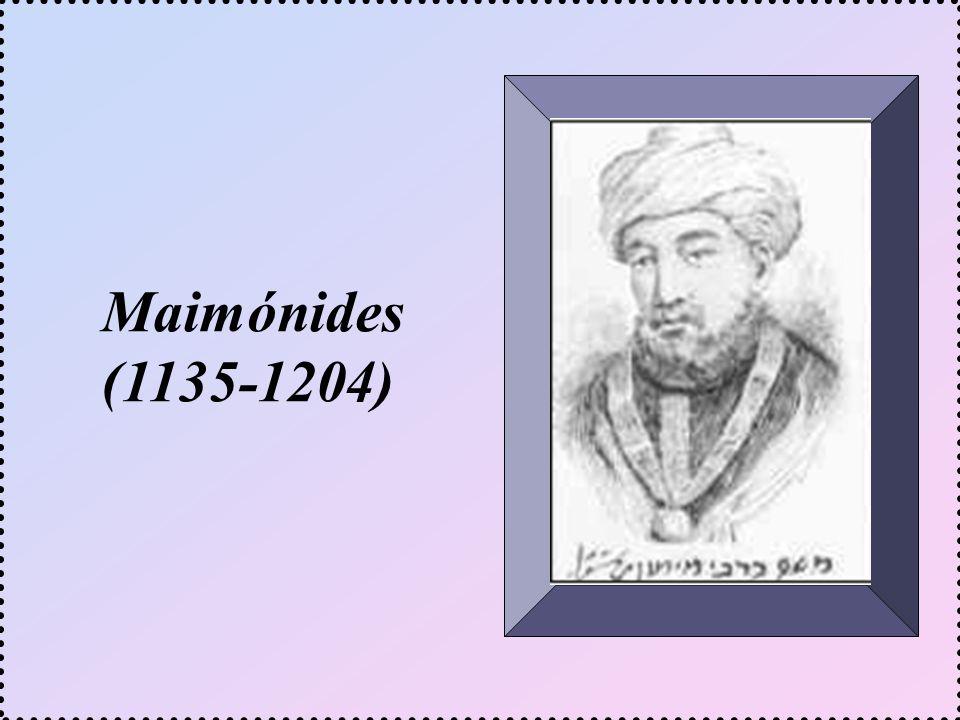 Maimónides (1135-1204)