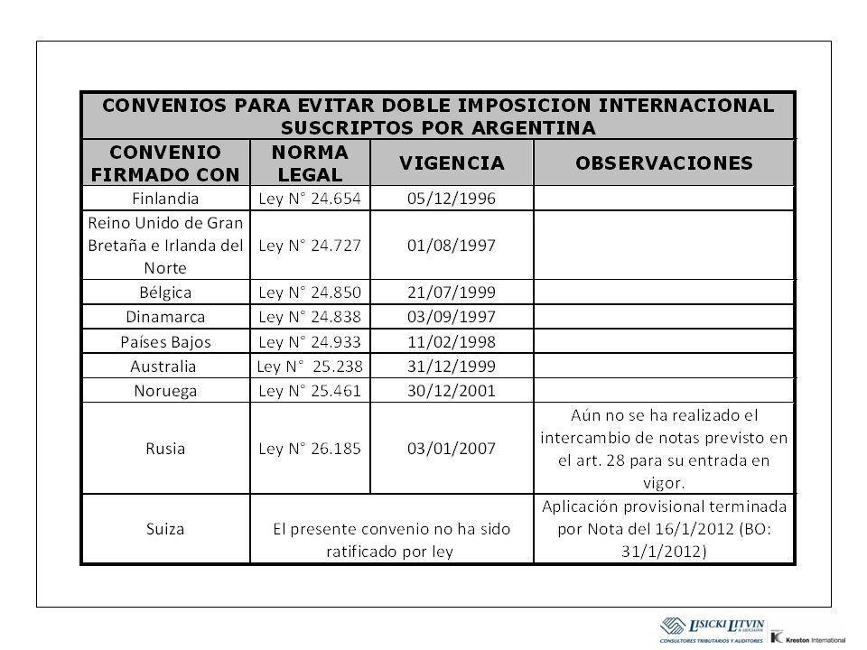 FACULTADES DE LA AFIP PARA CELEBRAR ACUERDOS BILATERIALES DE INTERCAMBIO DE INFORMACION Tendencia moderna es que las administraciones tributarias celebren estos acuerdos.