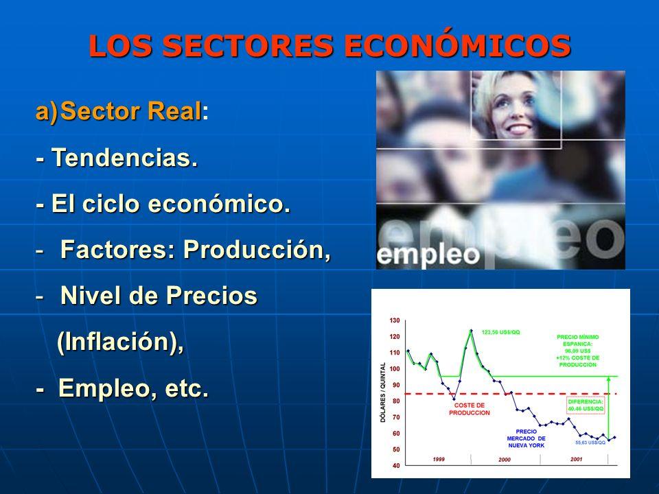LOS SECTORES ECONÓMICOS b) Sector Externo: La Balanza de Pagos: B.