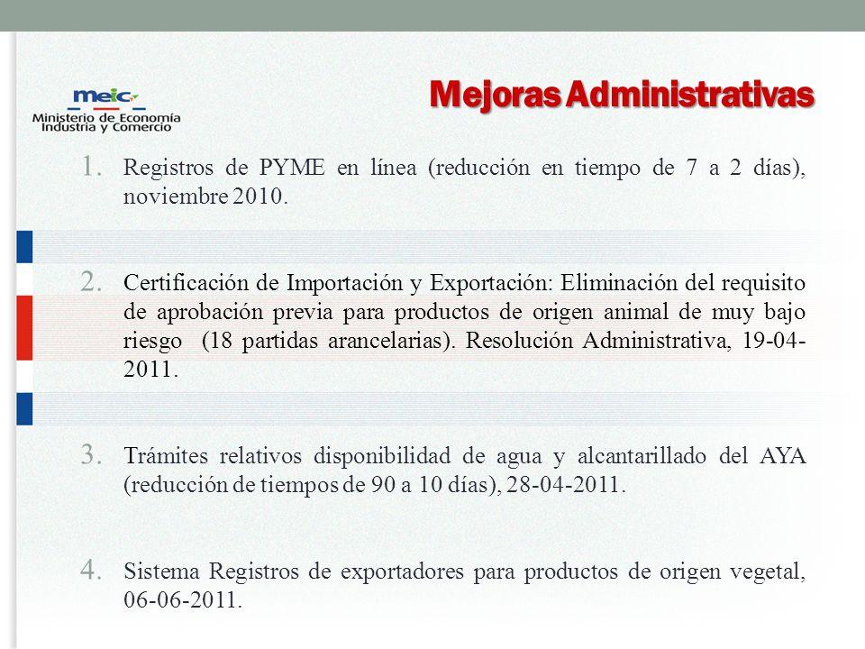 Mejoras Administrativas 1.