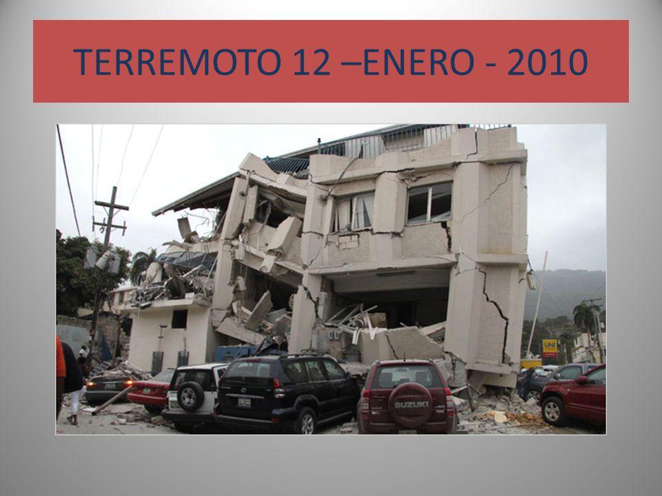 TERREMOTO 12 –ENERO - 2010