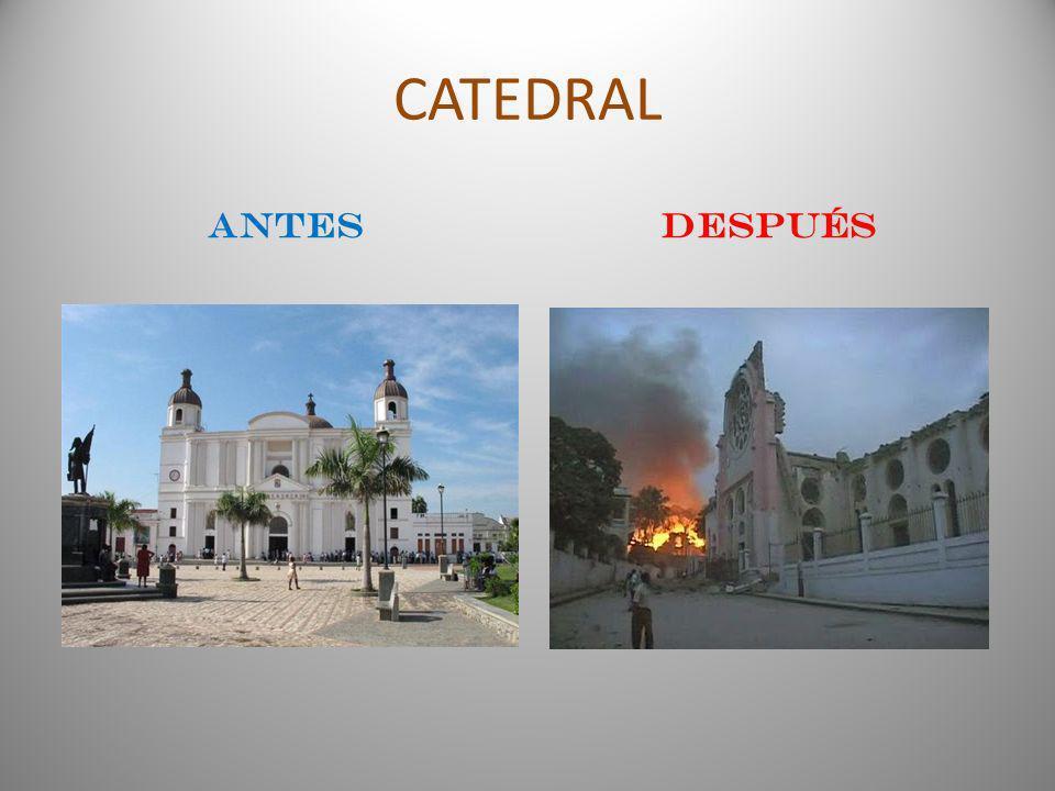 CATEDRAL ANTESDESPUÉS