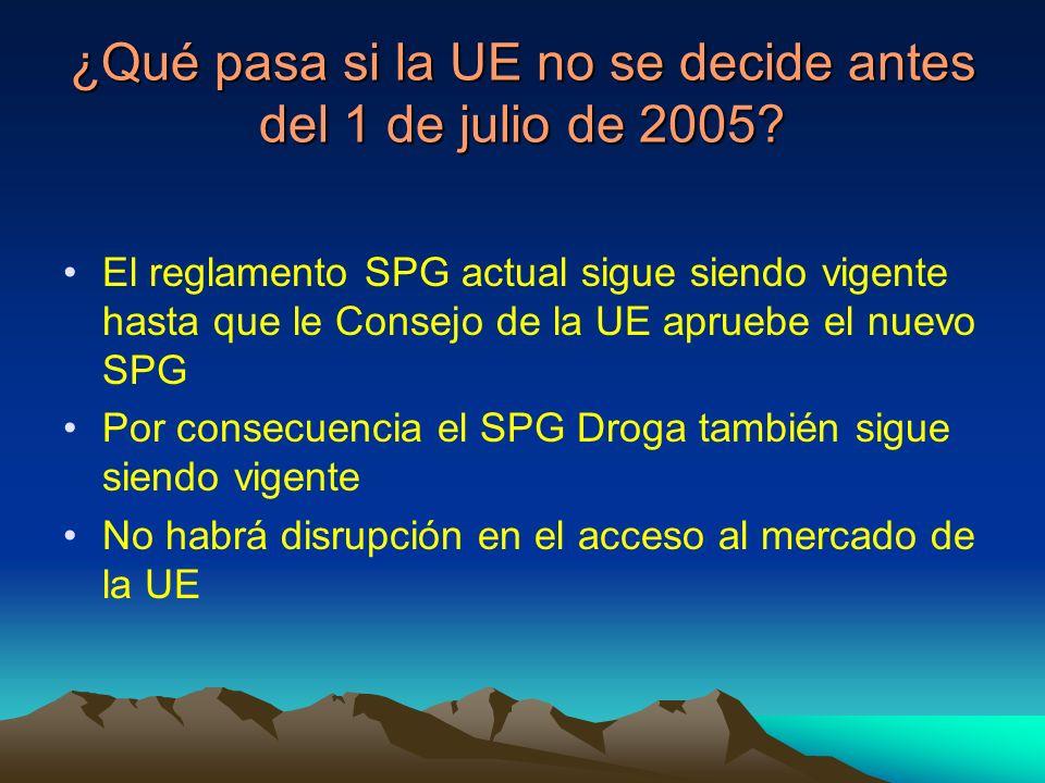 ¿Qué pasa si la UE no se decide antes del 1 de julio de 2005.