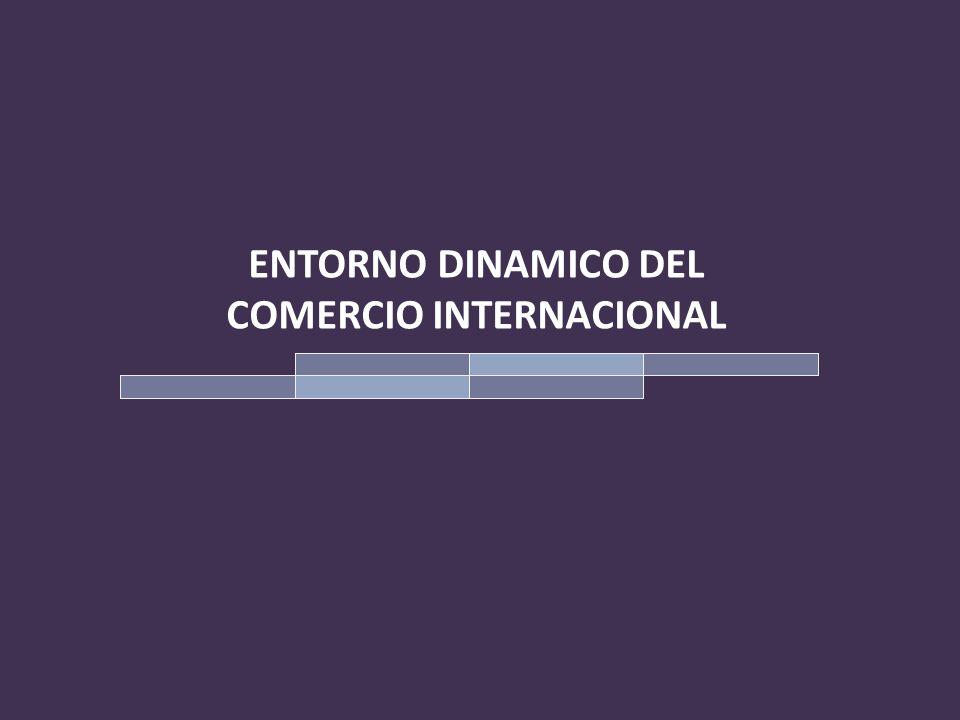 COMERCIO INTERNACIONAL El Comercio Internacional, entendido como el intercambio de bienes entre agentes económicos diversos, donde intervienen agentes públicos y privados, no sólo entre los países, sino entre agentes de un país con agentes extranjeros de empresas privadas o públicas que actúan ajustadas a legislaciones nacionales y de intercambio comercial o mercantil.