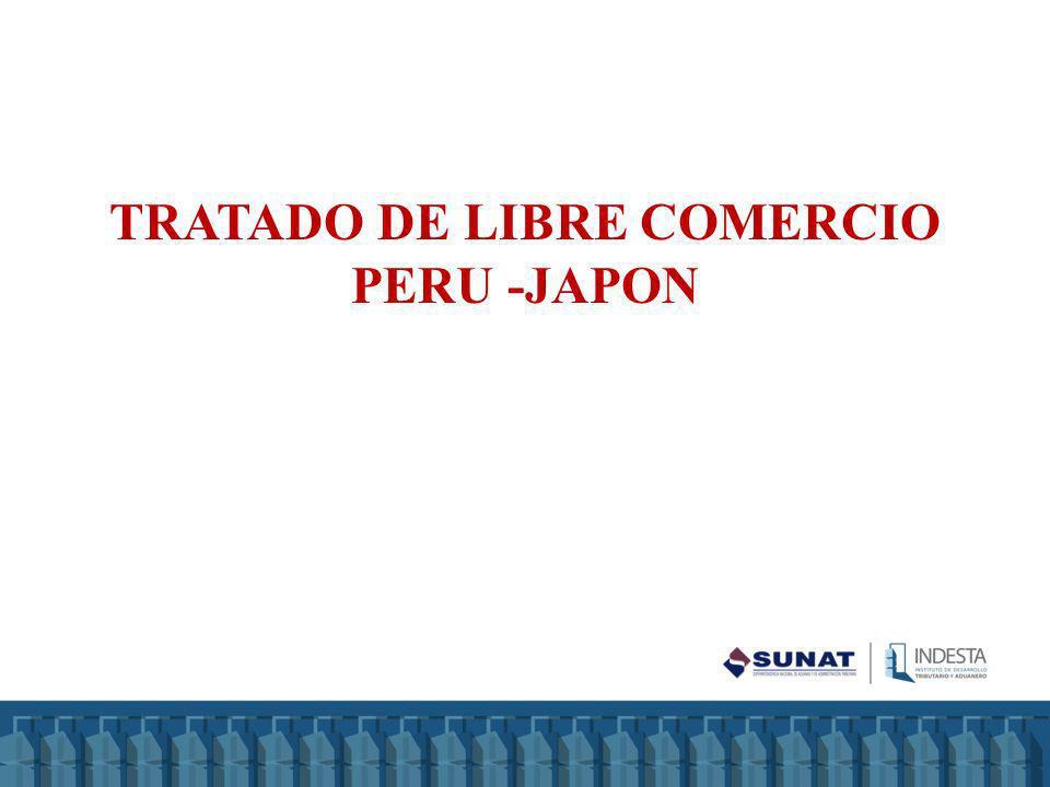 TRATADO DE LIBRE COMERCIO PERU -JAPON