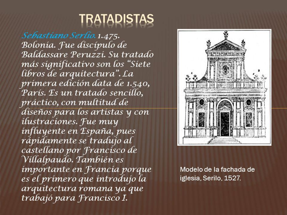 Andrea Palladio.Nació en Padua en 1.508.