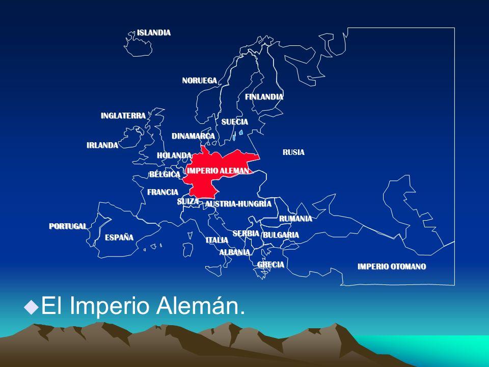 u El Imperio Alemán.