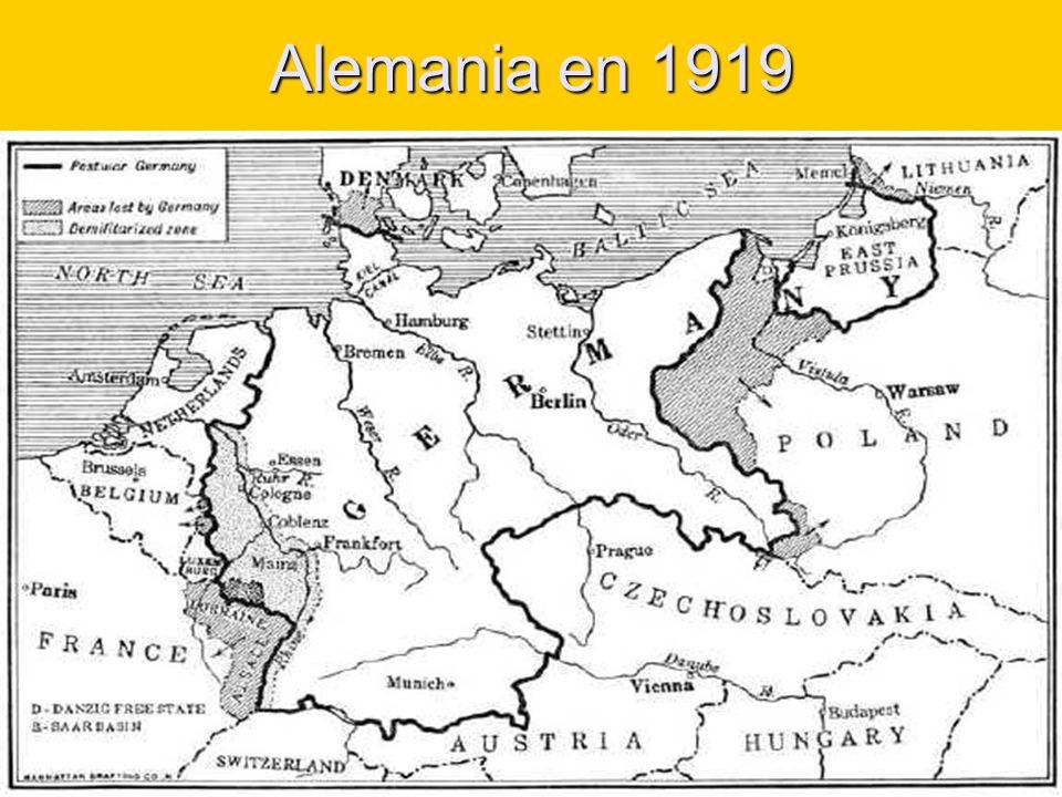 Alemania en 1919