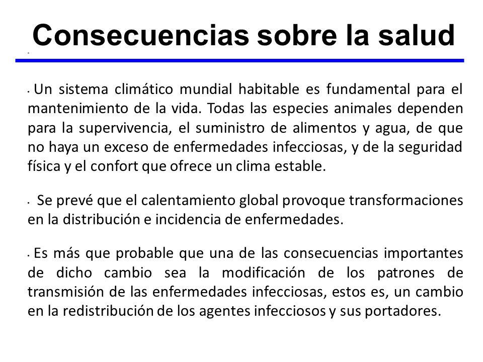 Un sistema climático mundial habitable es fundamental para el mantenimiento de la vida. Todas las especies animales dependen para la supervivencia, el