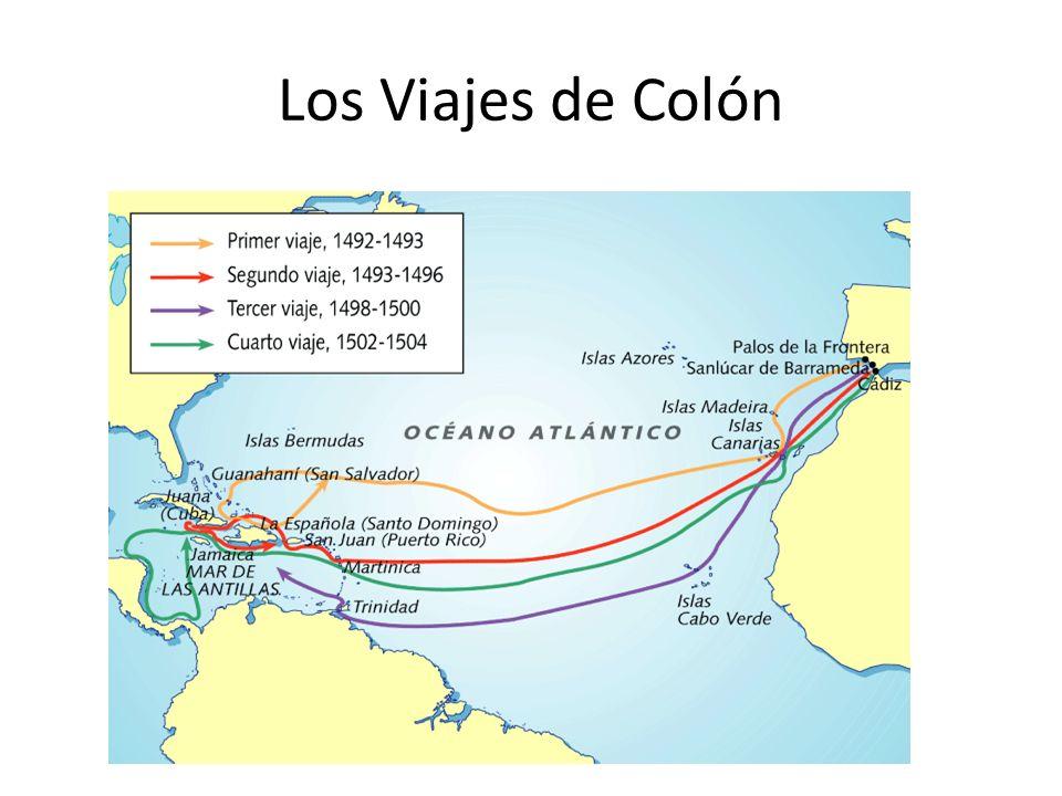 Los Viajes de Colón